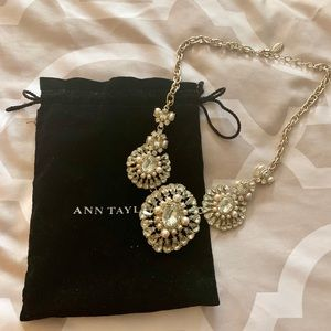 Ann Taylor Statement Necklace.